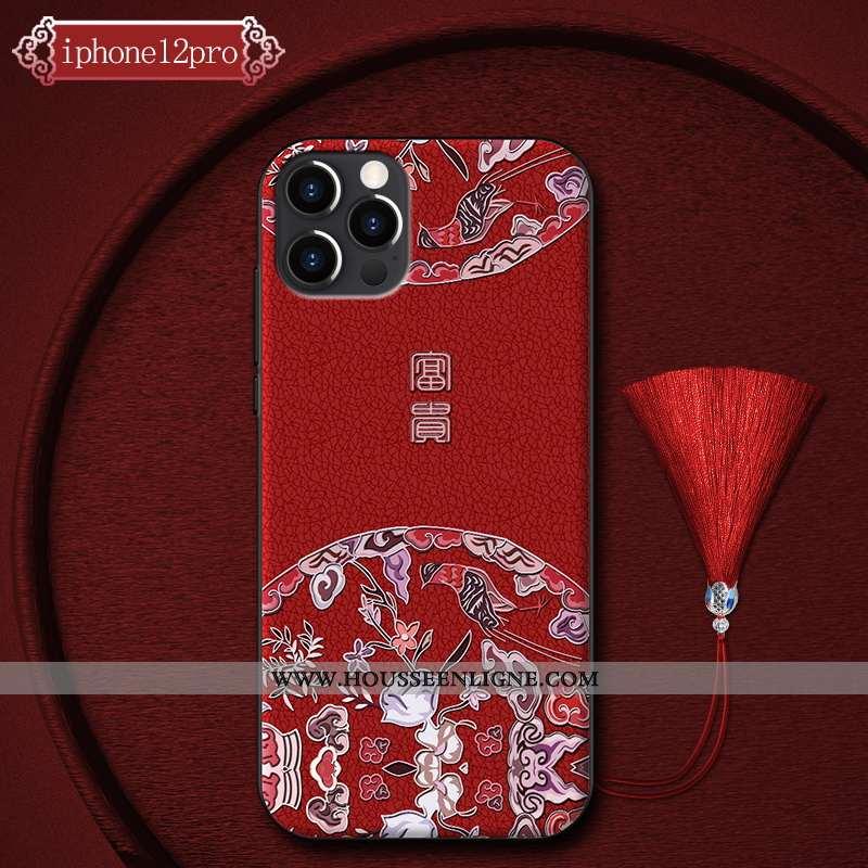 Étui iPhone 12 Pro Personnalité Créatif Protection Téléphone Portable Coque Tout Compris Incassable