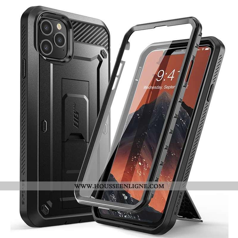 Étui iPhone 12 Pro Tendance Silicone Nouveau Téléphone Portable Difficile Coque Noir