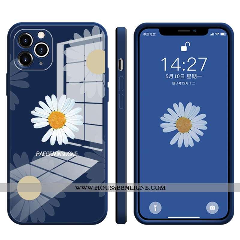 Coque iPhone 12 Pro Max Légère Protection Amoureux Tout Compris Ultra Téléphone Portable Bleu