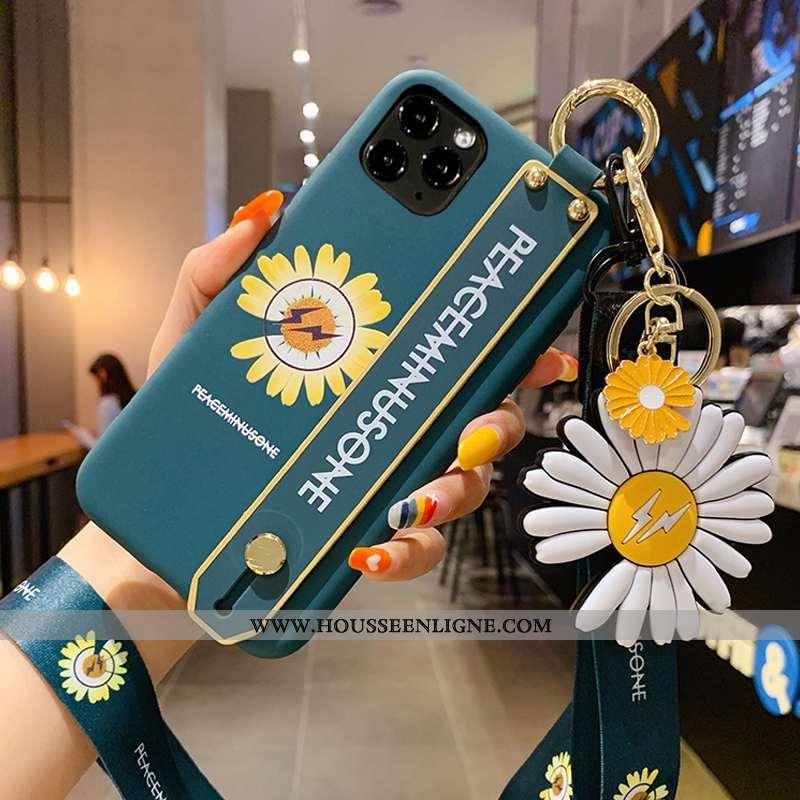 Coque iPhone 12 Pro Silicone Mode Tout Compris Créatif Tendance Luxe Verte