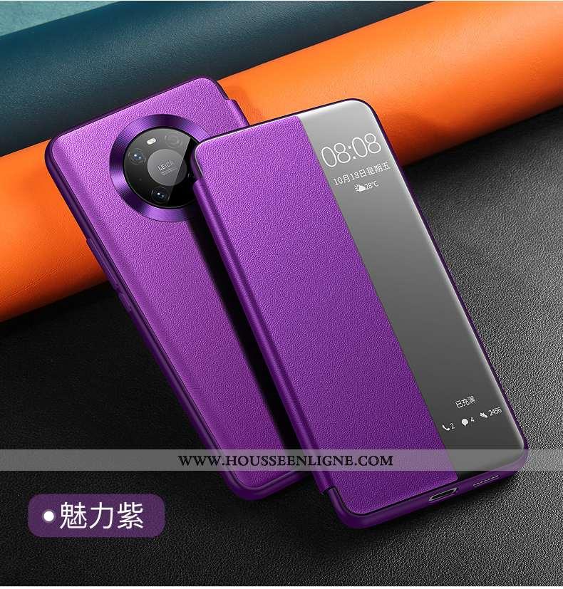 Housse Huawei Mate 40 Pro+ Cuir Protection Téléphone Portable Tout Compris Incassable Véritable Étui