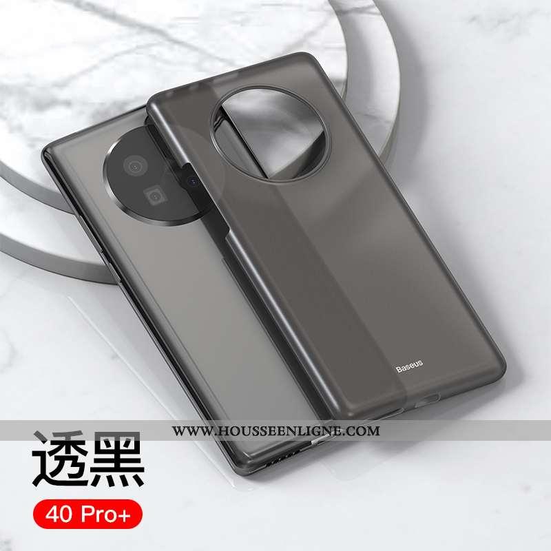 Housse Huawei Mate 40 Pro+ Ultra Légère Créatif Tout Compris Étui Amoureux Téléphone Portable Noir