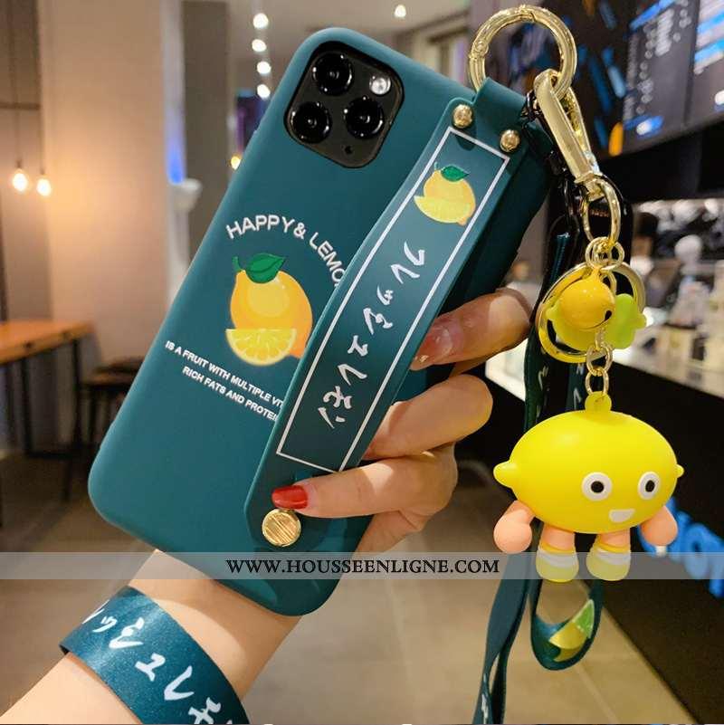 Housse iPhone 12 Pro Max Tendance Silicone Étui Téléphone Portable Tout Compris Protection Citron Bl